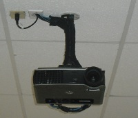Ceiling Mounted Multimedia Projector